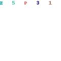 [en.casa]® Wall clock double-decked plane pattern - analog - 38 x 7 x 21 5 cm - colored - B074WX2GQF